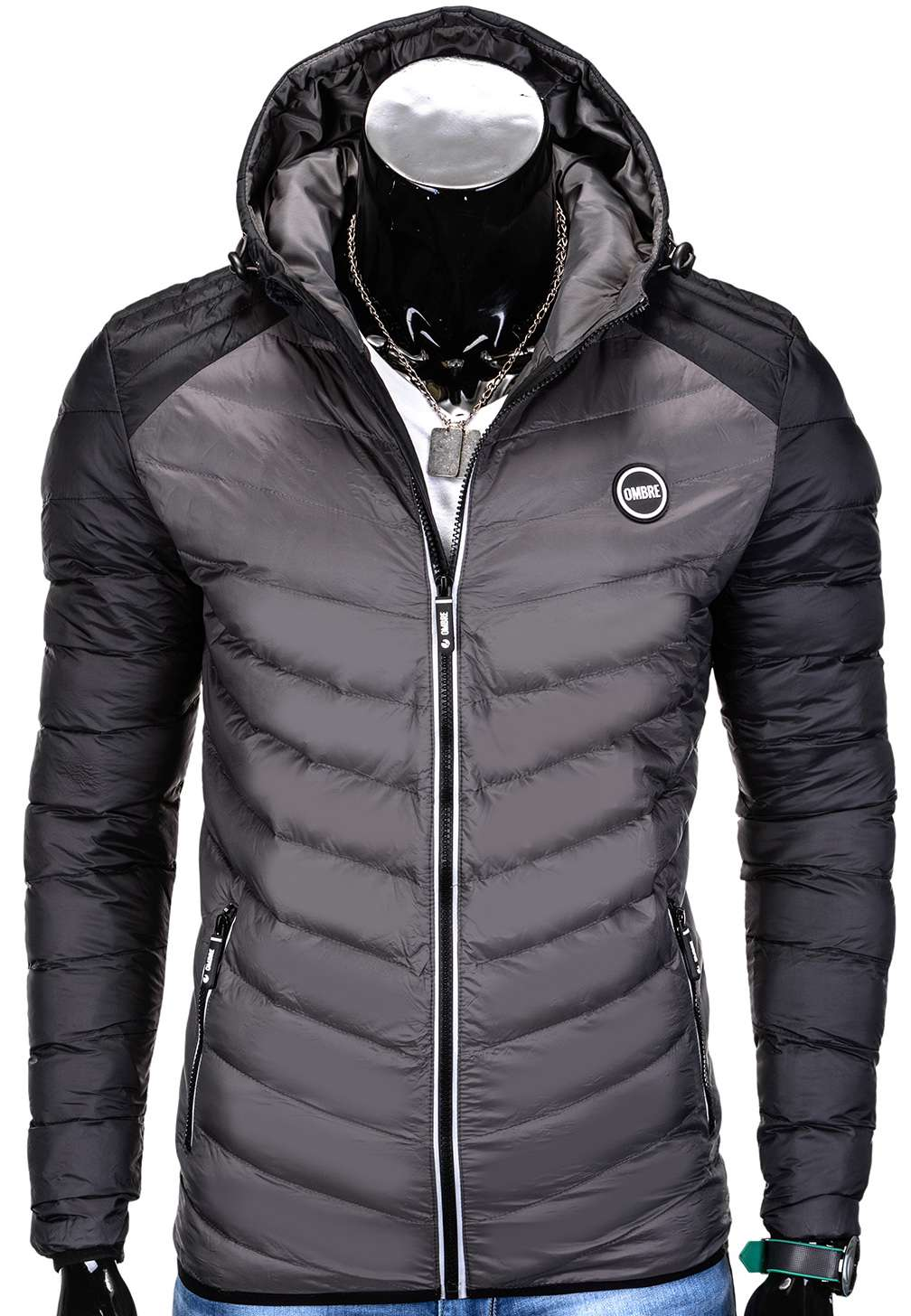 new product 5f27c c963c GIACCA INVERNALE UOMO OMBRE C293