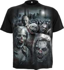 T-Shirt ZOMBIE HORDE - Walking Dead
