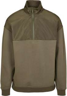 Maglia pile uomo Military Troyer